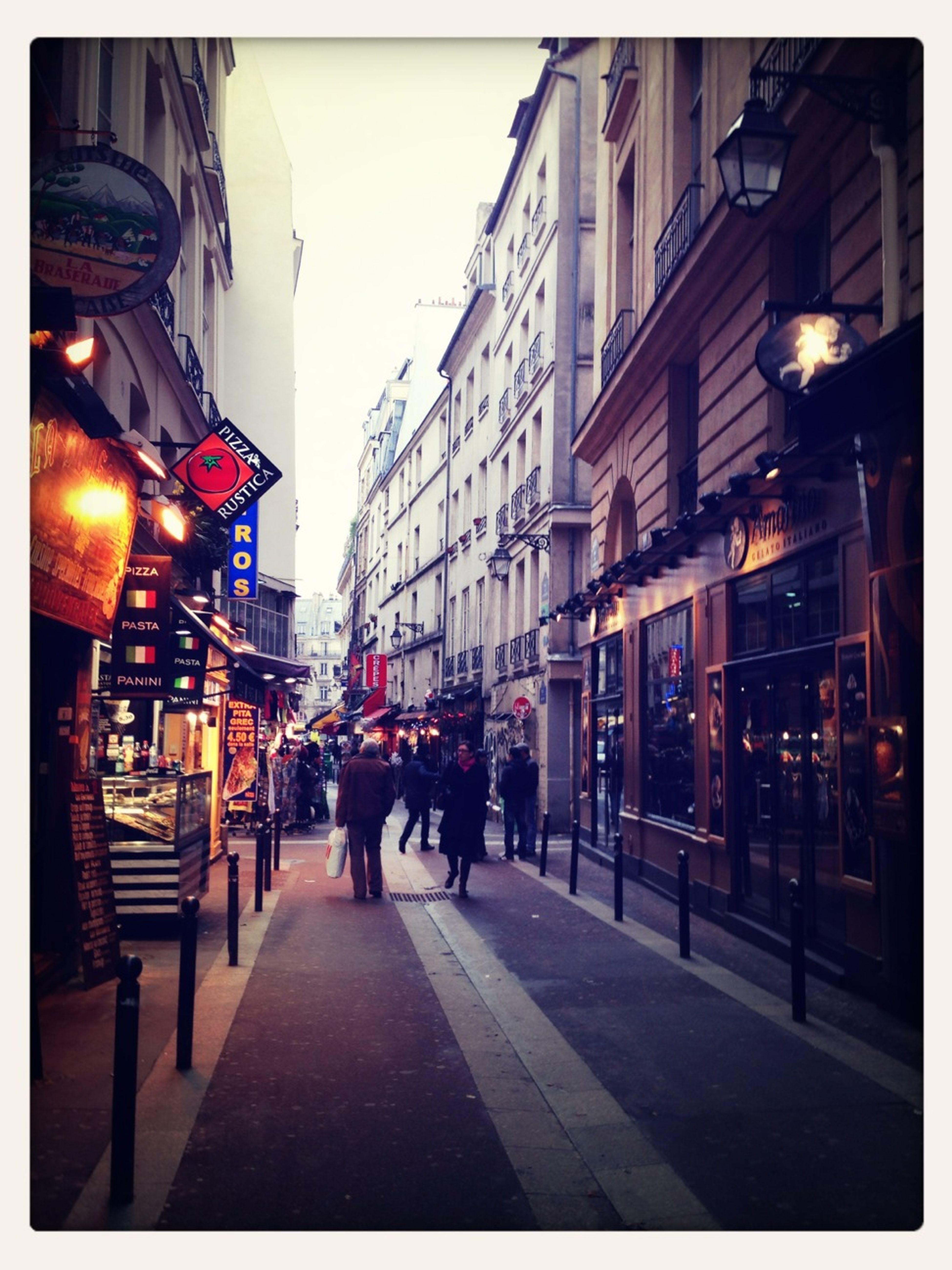 Street Of Greek Bars