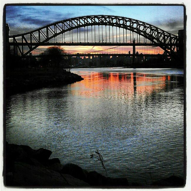Bridge Hellgatebridge Queens Newyork Instagram Instamood Igaddicts Instasky Instagramers Picoftheday Colors 365photosoneadayforayear Insearchofsunset