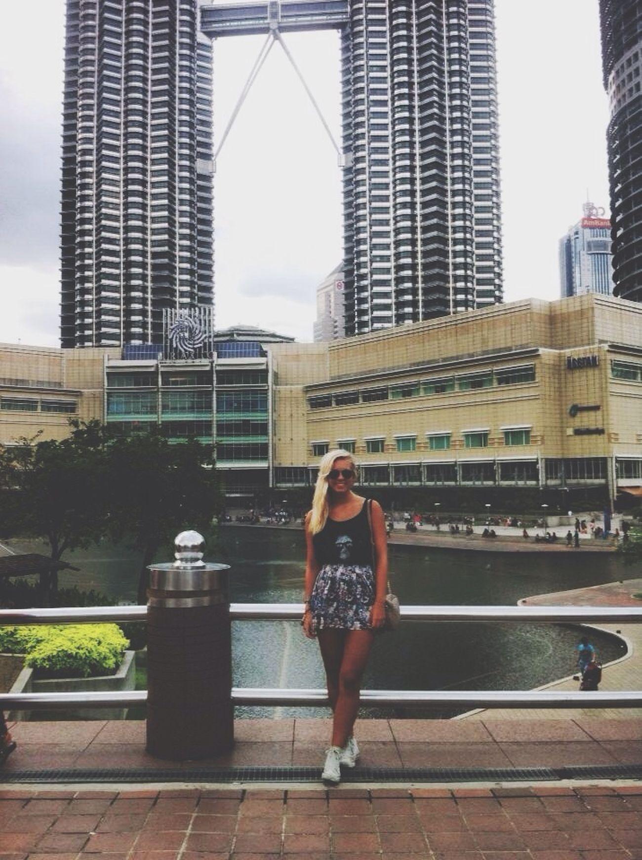 Twintowers Me Tourist Trip