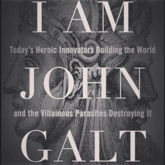 http://is.gd/EMxNDS I Am John Galt : Today's Heroic Innovators Building the World and the Villainous Parasites Destroying It - Donald Luskin