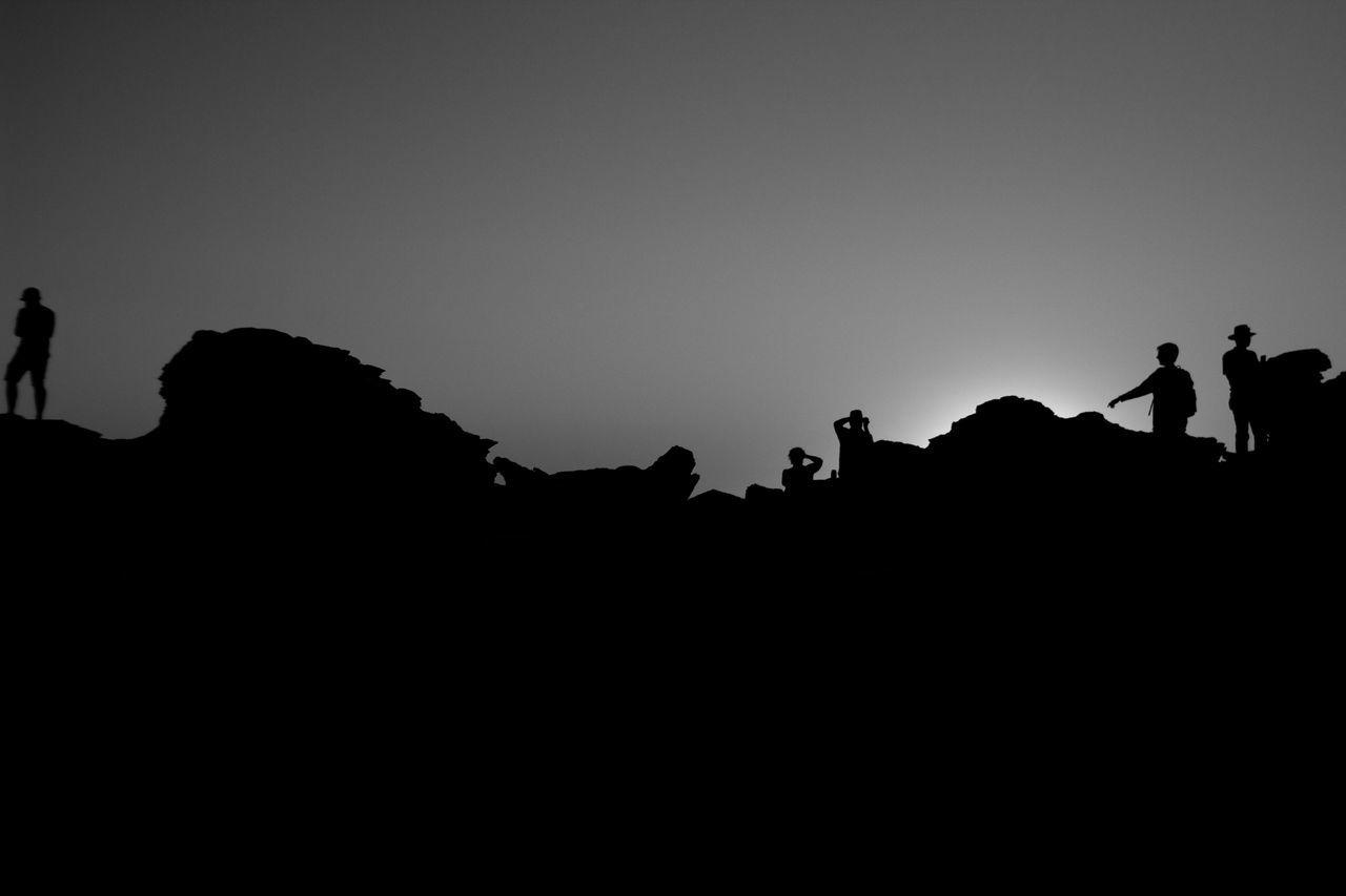 Blackandwhite Broome People Rocks Silhouette Sunshine