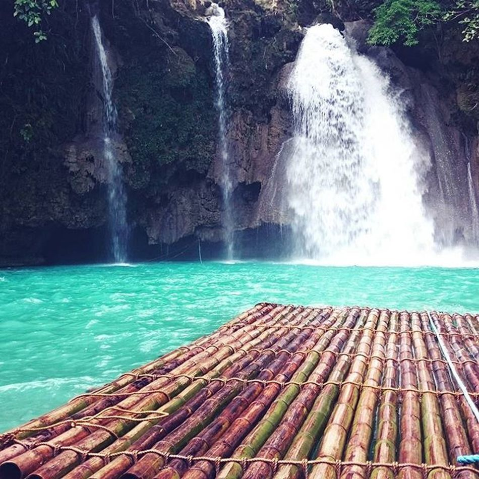 one of the best falls I've been to😎👍 KawasanFalls Nature SouthCebuHoliday Day3 Cebu Badian Philippines Travel Nature's Diversities The Great Outdoors - 2016 EyeEm Awards The Great Outdoors With Adobe Fresh On Eyeem  Eyeem Philippines