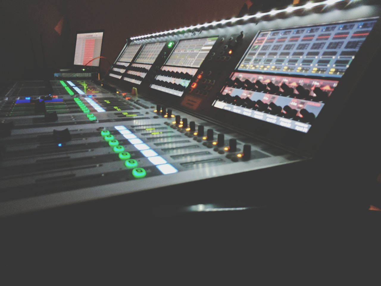 Sound Mixer Music Sound Recording Equipment Mixing Arts Culture And Entertainment Technology Audio Equipment Recording Studio Studio Control Panel Illuminated Indoors  Nightclub No People Night Close-up