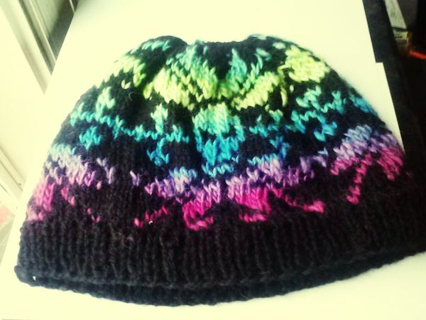 Beanie Handmade Wool Hat Wool Handdyed Check This Out Eyem Gallery Eyem & Getty Collection Vibrant Colors All Natural Yarn Mountain Life Lost Art Old Craft Lost Art Reborn Taking Photos Check This Out my beanie my step mom made me :-) Knitting Yarnporn Knitting Wool