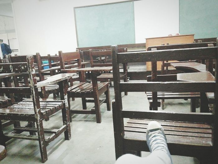 class done Emptychairs Tired Happy Tho