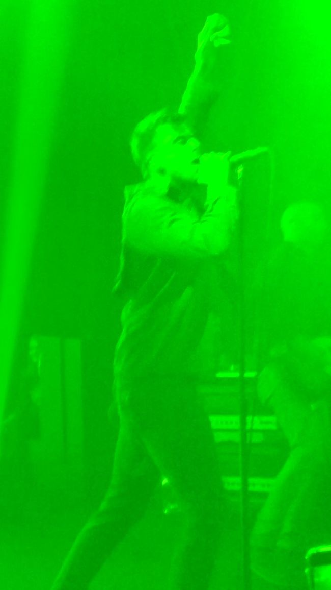 Lemon Lime By Motorola Accidental Camera Malfunction Concert Photography Anthony Green Circa Survive Music Worship