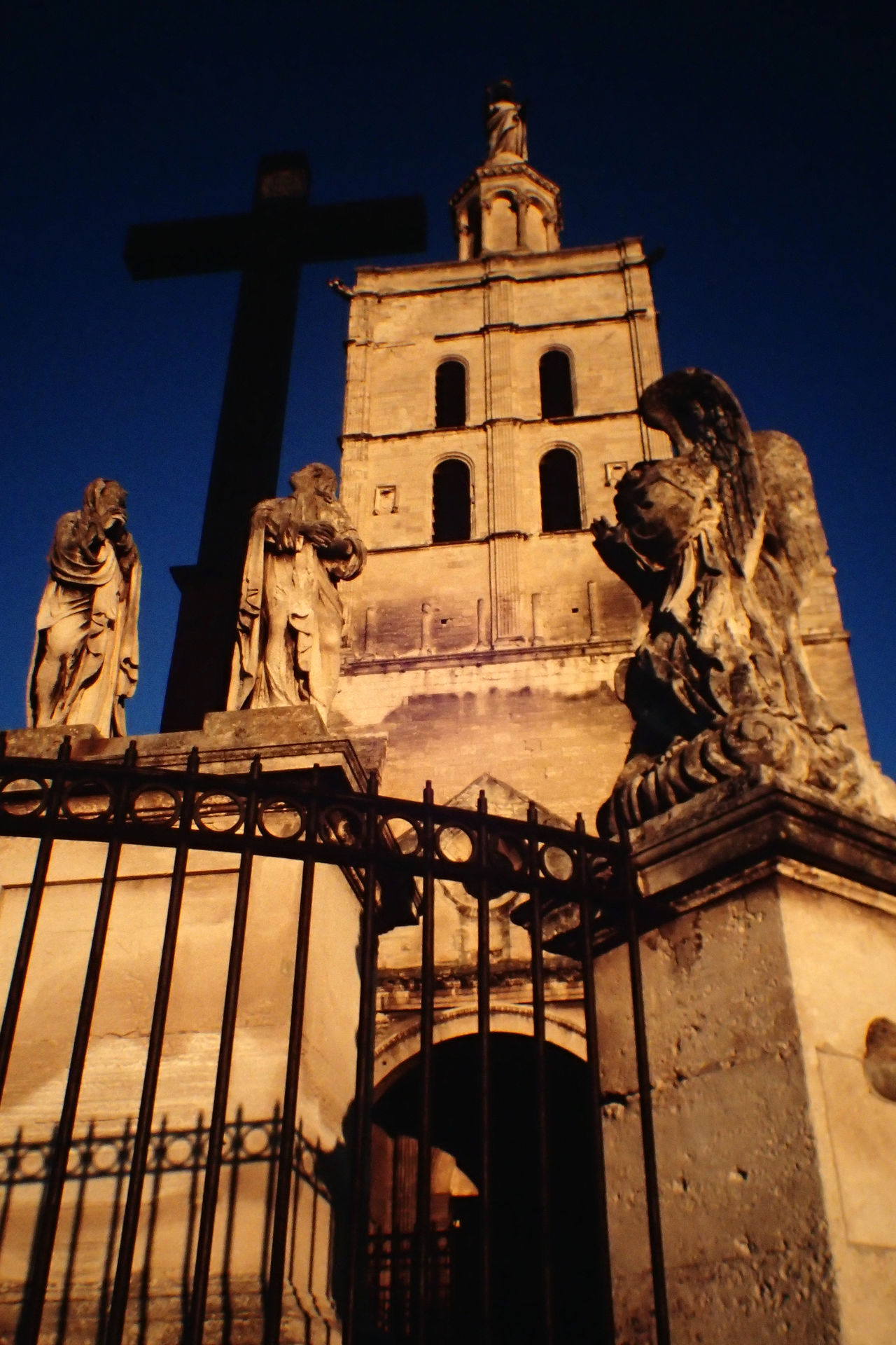 Avignon Christianity Church France Low Angle View No People Notre Dame Des Doms Outdoors Place Of Worship Religion Spirituality Travel Destinations