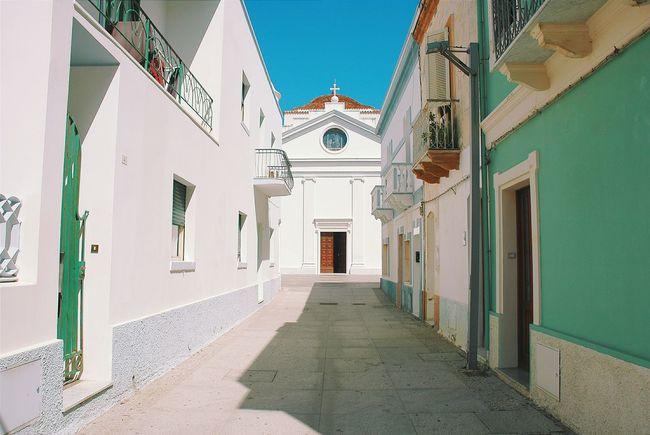 The Traveler - 2015 EyeEm Awards Village Calasetta Sardinia Sardegna Sulcis Chiesa Church White Bianco