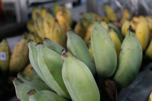 Banana Fruit Fruitporn Fruits Green Bananas Thailand Market