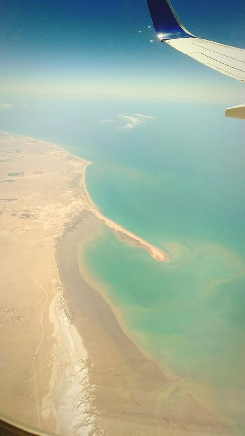 Aerial View Sand Sea Travel Travel Destinations Landscape Tourism Scenics Water Day Beach No People Sky Clear Sky Beauty In Nature Nature