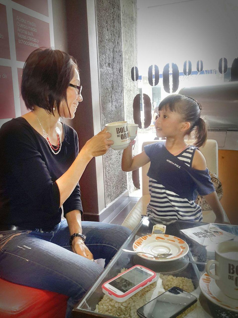 My Love❤ Coffee ☕ Veracruz, México Cofee time with my princess... Family Dinner