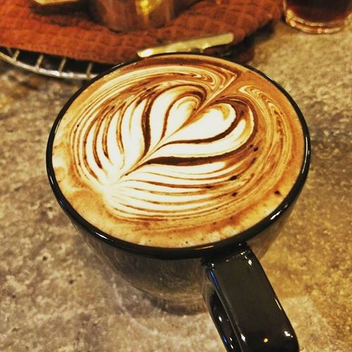Have a Hazelnut chocolate milk on a rainning day☕Coffeefang Coffeeinloft Hazelnut Chocolate Milk Cafe Bpcafe Warmyoursoul