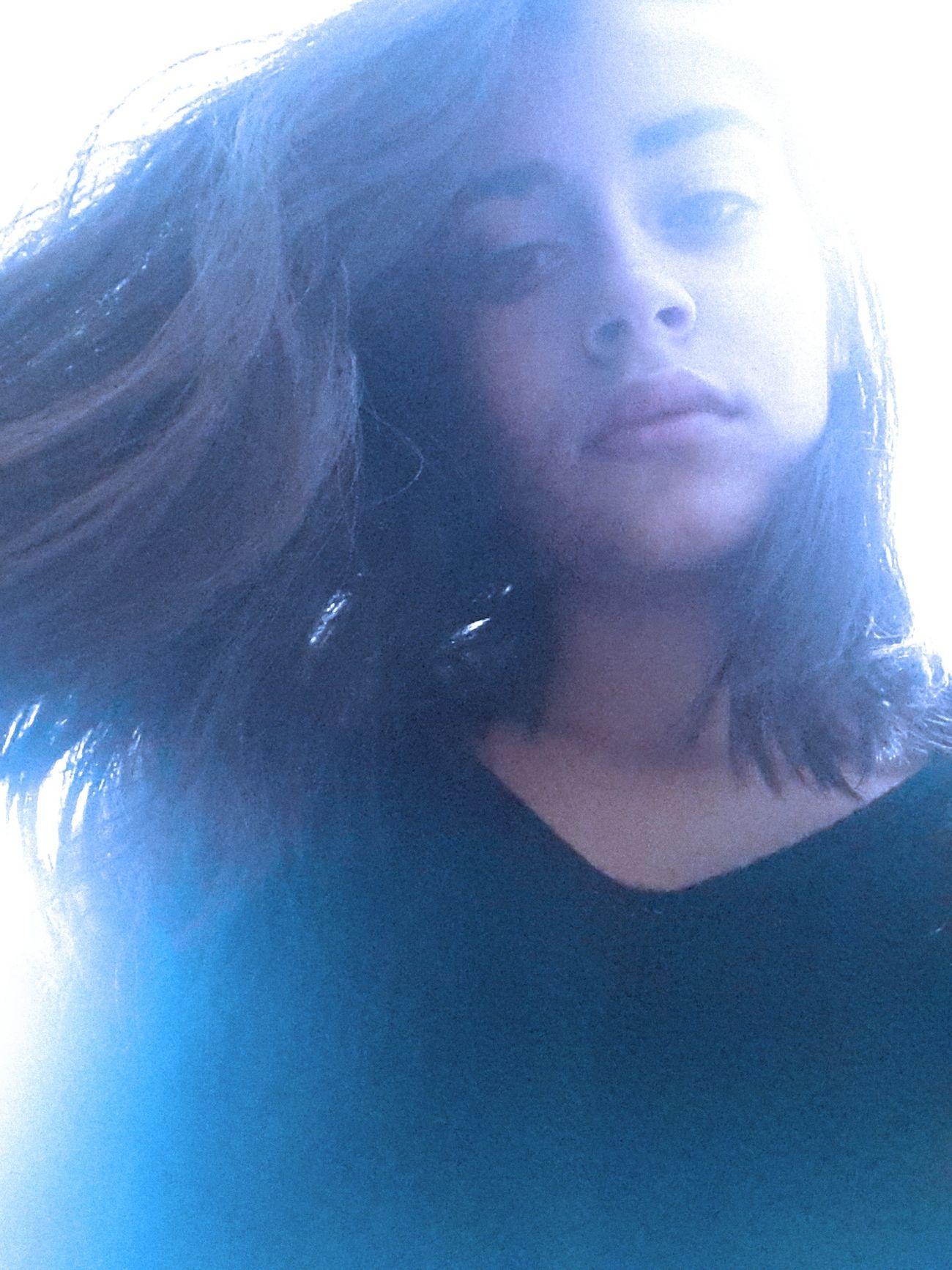 Light And Shadow Littlebored Selfie