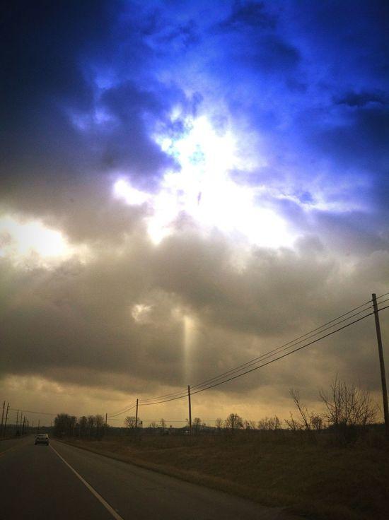 The Sky's Always Amaze me Cruising Around Taking Photos Enjoying Life That's Me =]