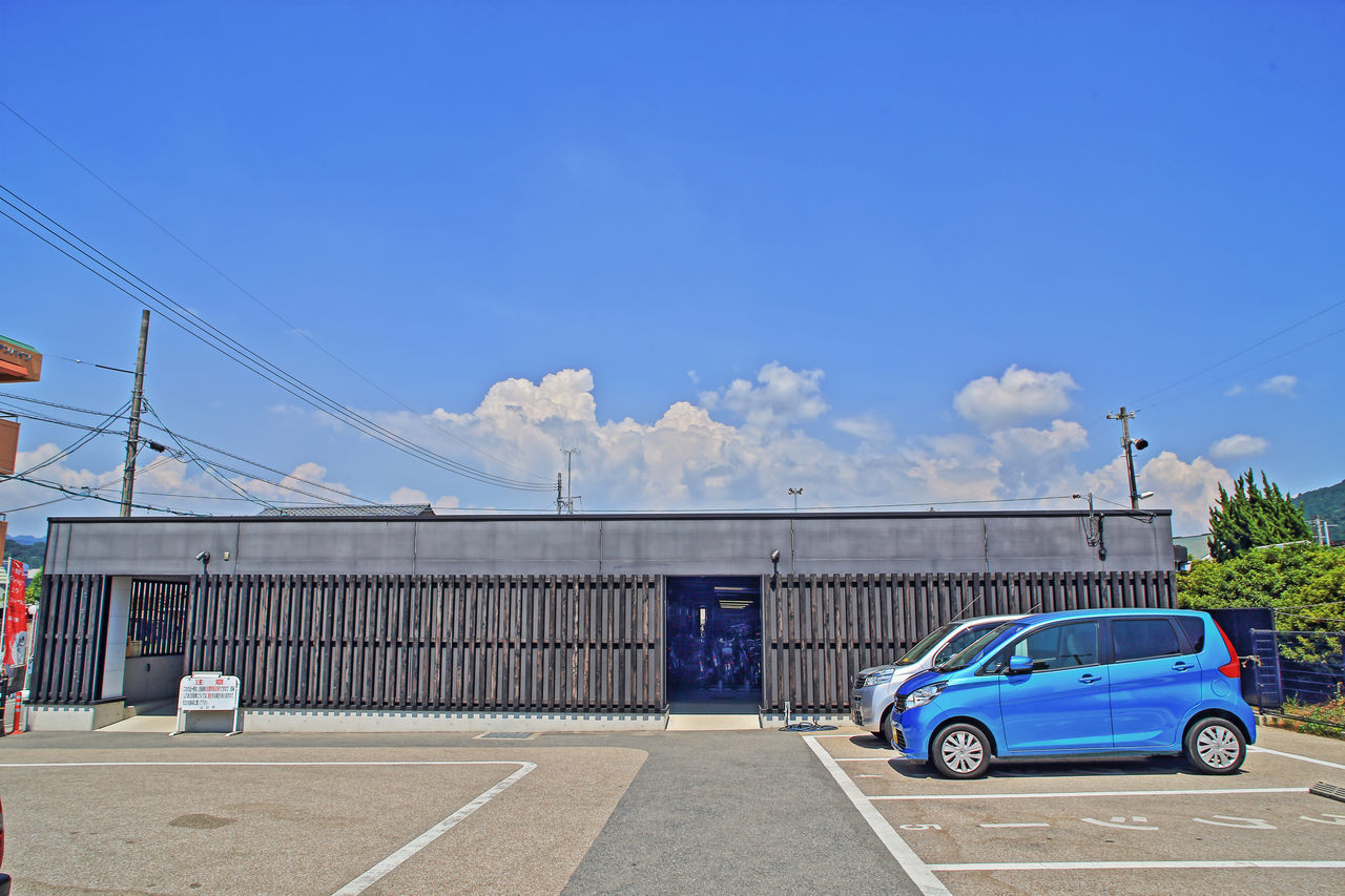 Yamaguchi, Japan Parking Lot Small Car Summer Vacation Blue Sky Outdoors Vacation Time Last summer vacation. The weather was very hot, but it was so pleasant memory. Live For The Story