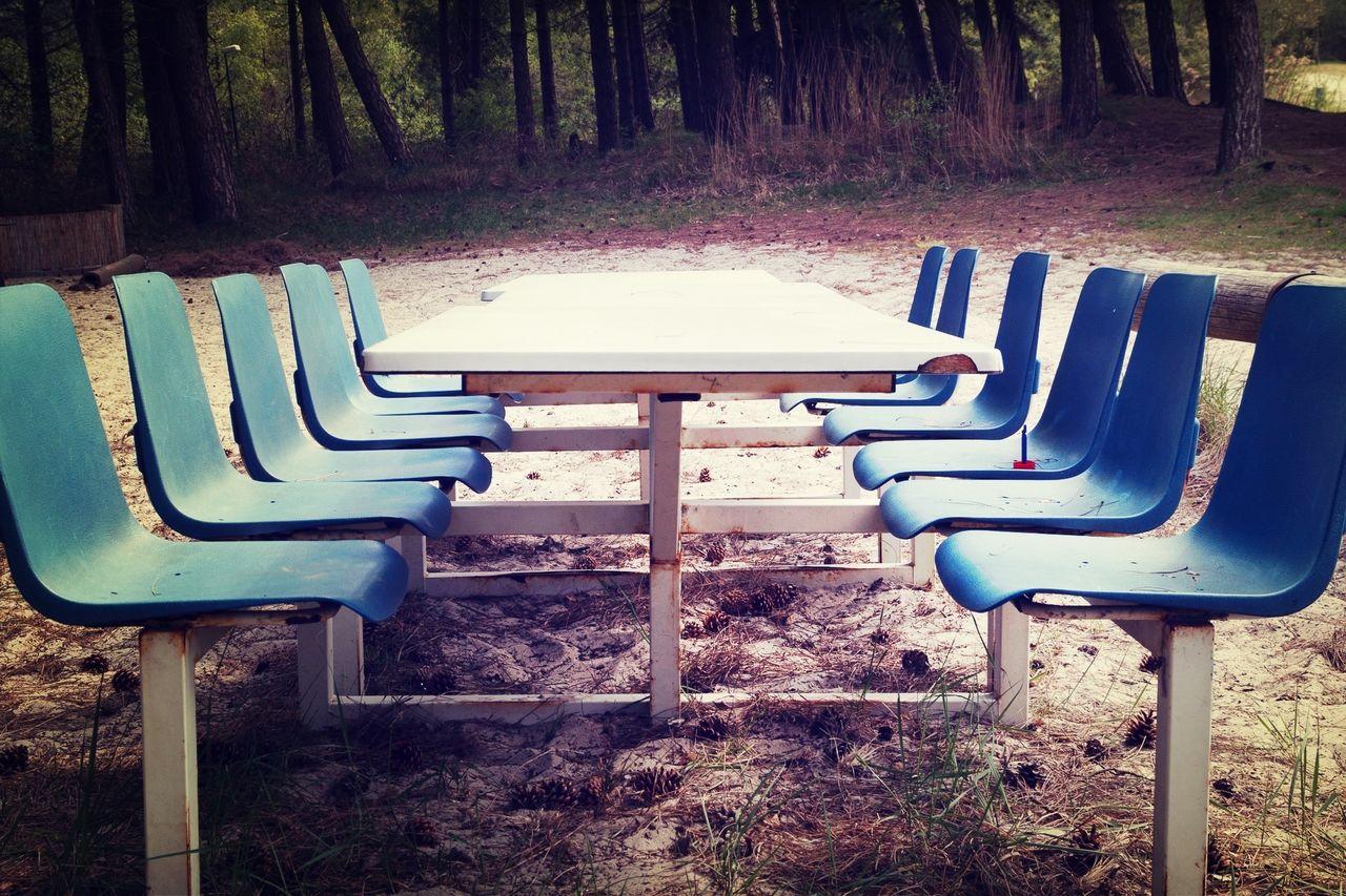 Symmetry Rest Stop Table Symmetrical