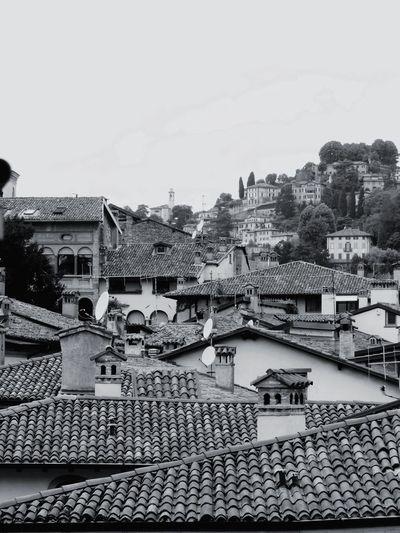 Up On The Roof Italianlandscape Bergamo Roofs