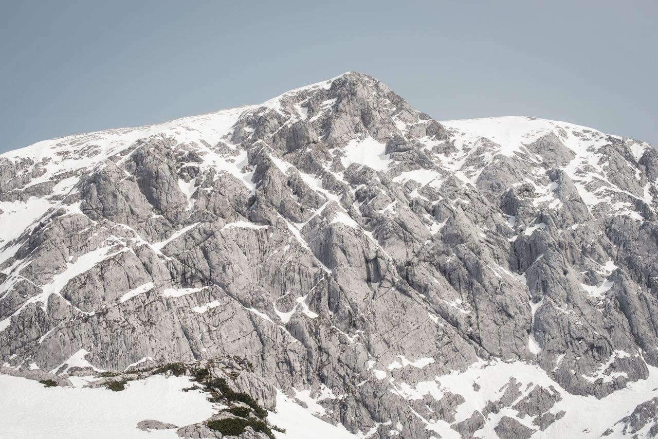 Berchtesgaden Bgl Climbing Hiking Hoher Göll Hohes Brett Mannlgrat Mountains Snow The Alps View Winter