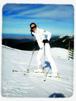 ski in Madrid by María