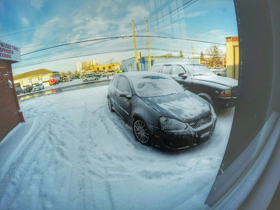 Winter mode Volkswagen GTI Mk5 VW Mkv Golf Cars Weather Winter Snow