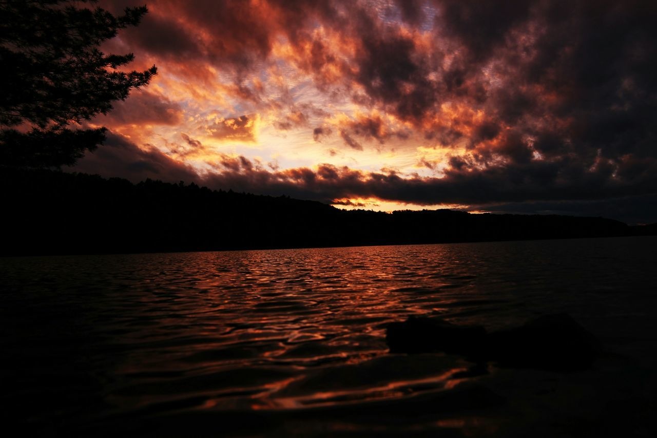 Sunset Water Reservoir Nature Canonphotography Canon Rokinon Rokinon14mmf2.8 Lake Summer Color Hanging Out Taking Photos Check This Out Hello World Landscape Photography Darkness Quality Time Peace And Quiet Relaxing Art Artofvisuals LetsGetIt Astrophotography
