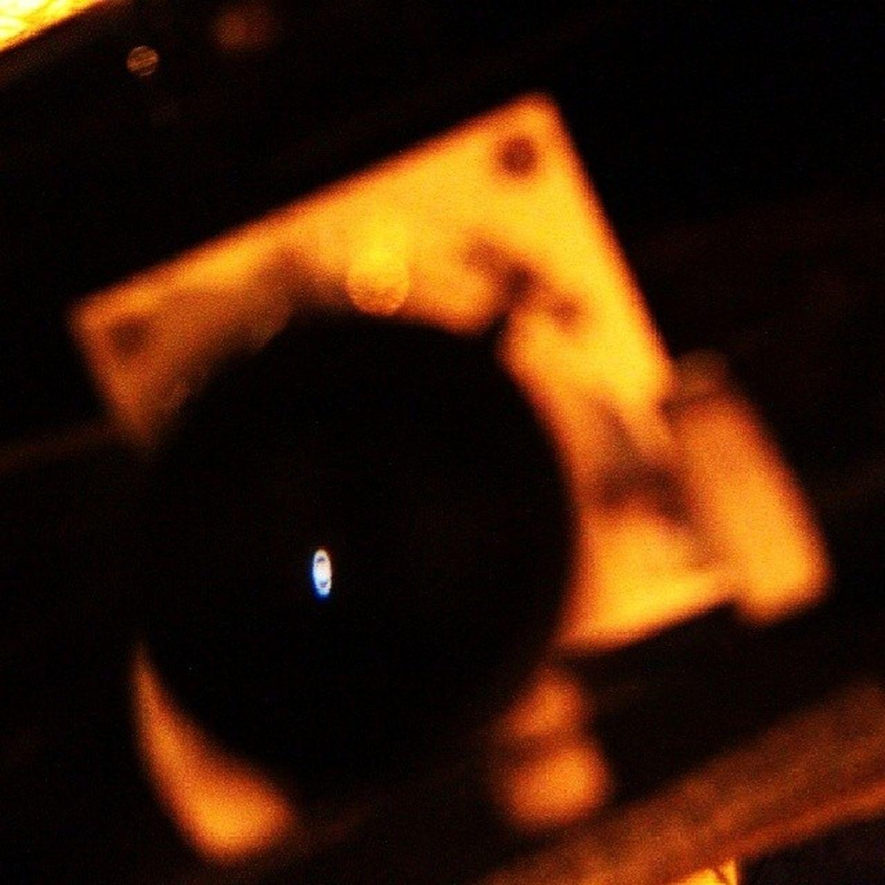 Planeta Saturno visto pelo obturador de um telescópio de Newton , durante evento do Clube de Astronomia de São Paulo. Astrophotography Astronomy Saturn Space Photojournalism
