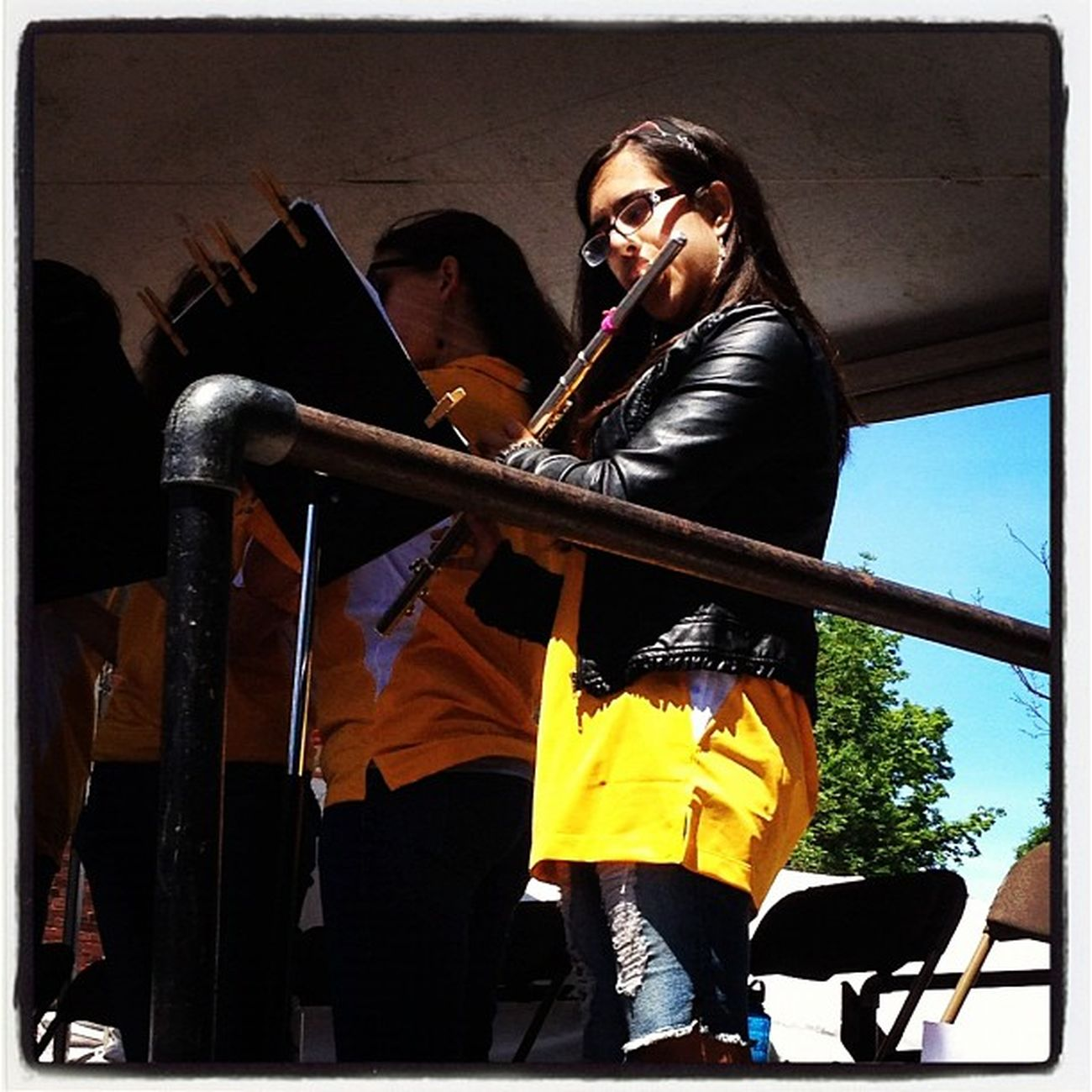 My Offspring Performs at Burlington Jazz Festival 2012. #btv #vt #miltonvt Mhs  Instagood Band Jazzfest IPhoneography Vt Happy Btv Downtown 802 Music Miltonvt Jazz Vt_scene Proud Vermont_scene Offspring Photoofday 365 High_school Burlington Jazzband Vermont Church_street Instamood Proud_dad Musical PhotoADay