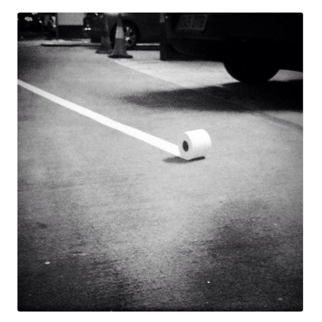 tp @ parking.. isn't bizarre???? in Vigo Tp @ Parking.. Isn't Bizarre????