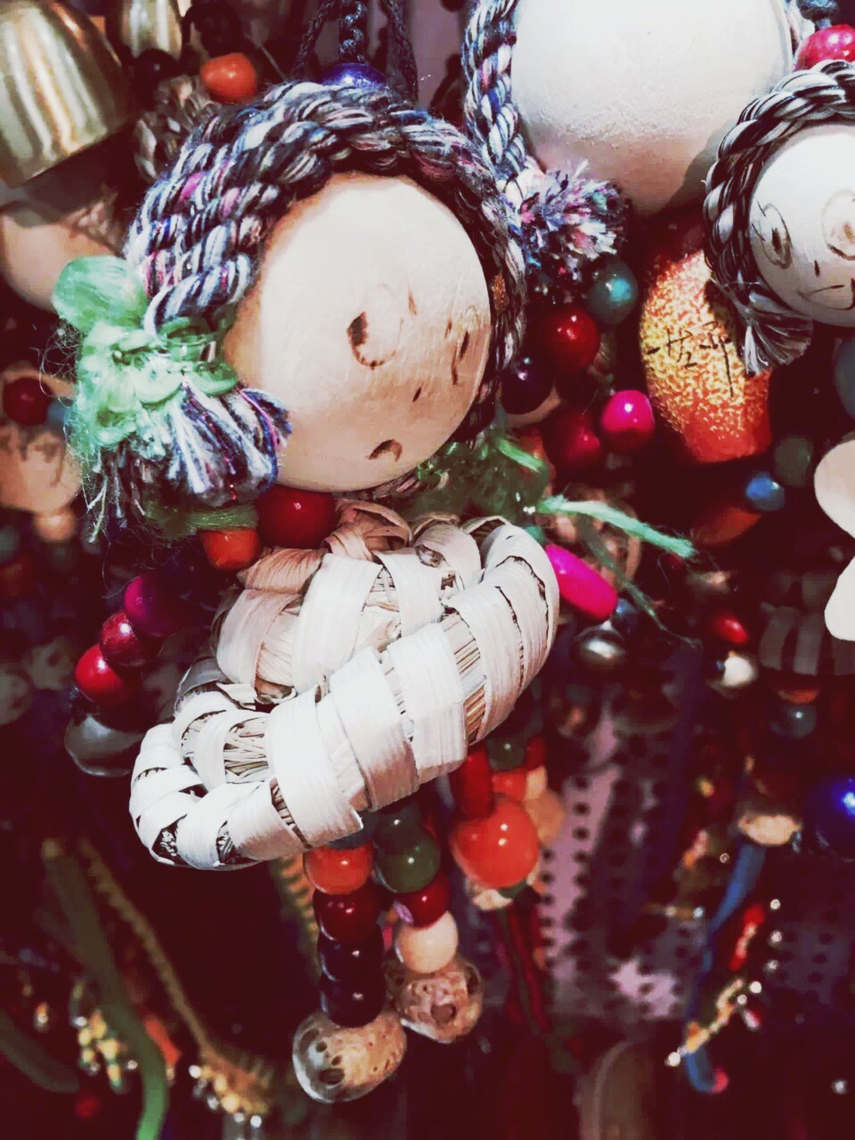 large group of objects, hanging, tradition, religion, cultures, abundance, close-up, indoors, still life, celebration, variation, selective focus, christmas ornament, multi colored, holiday, luck, bunch, holiday - event, full frame, no people, heap, merchandise, red, celebration event, extreme close up