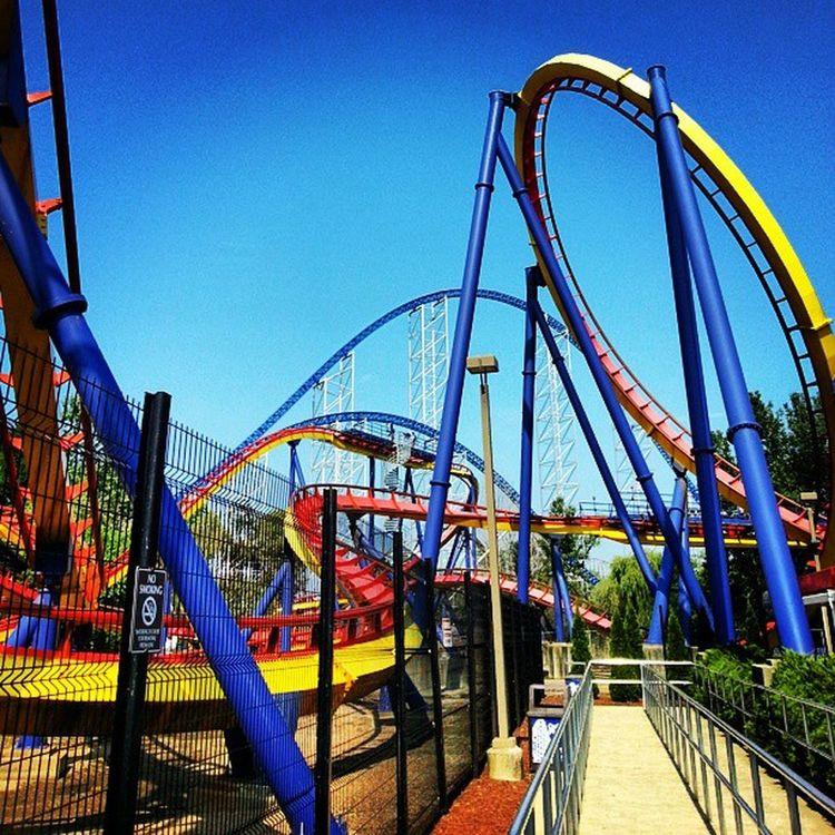 Cedar Point! Rollercoaster CedarPoint Awesome Kcco