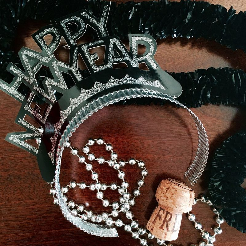 ©Amy Boyle Photography Beads Celebrate Celebration Chamagne Close-up Cork Creativity Full Frame Happy New Year History Holidays Indoors  New Year New Years Eve New Years Resolutions 2016 No People Party Party Decoration Party Decorations Party Hat Party Time