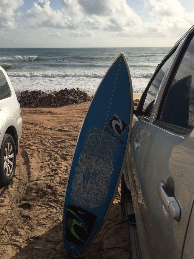 Surf Tabatinga Enjoying Life Beach Surfing
