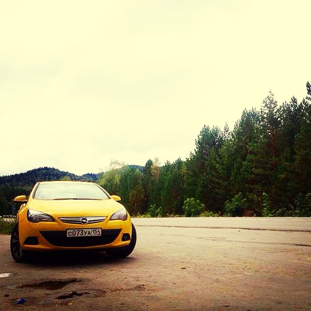 Nature Avto Sun Opel Astra GTC