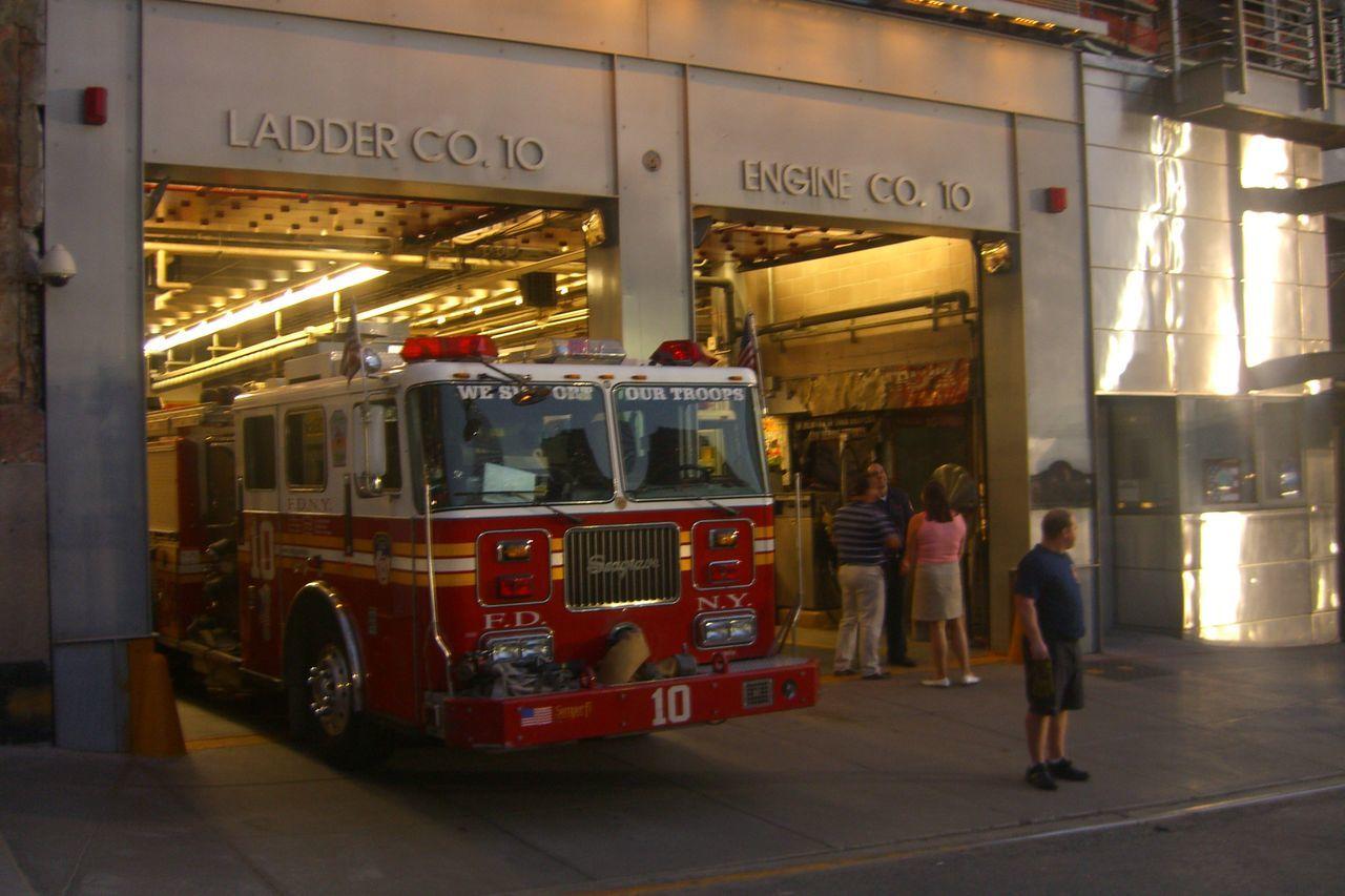 Feuerwehr Feuerwehrauto Firedepartment Ground Zero, NYC Manhattan New York City Station USA