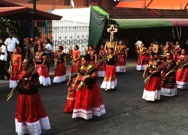 Tradiciones del Istmo de Tehuantepec en el Sureste de México. Traditional parade at southern Mexico. Mexico Traditional Costume Parade Colors Veracruz Oaxaca Southern