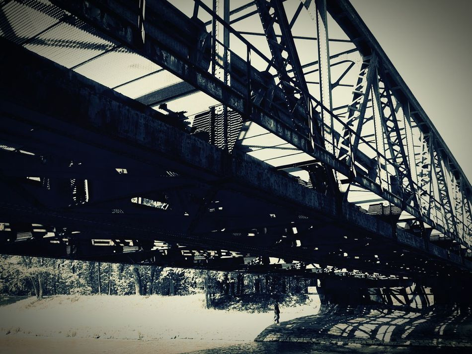 Built Structure Architecture Low Angle View Bridge - Man Made Structure Bridge View Bridge Light And Shadow Pattern Cityscapes Architecture_collection Architecture City Roadsidephotography Bridge Over Water Bridge Photography Bridgescape
