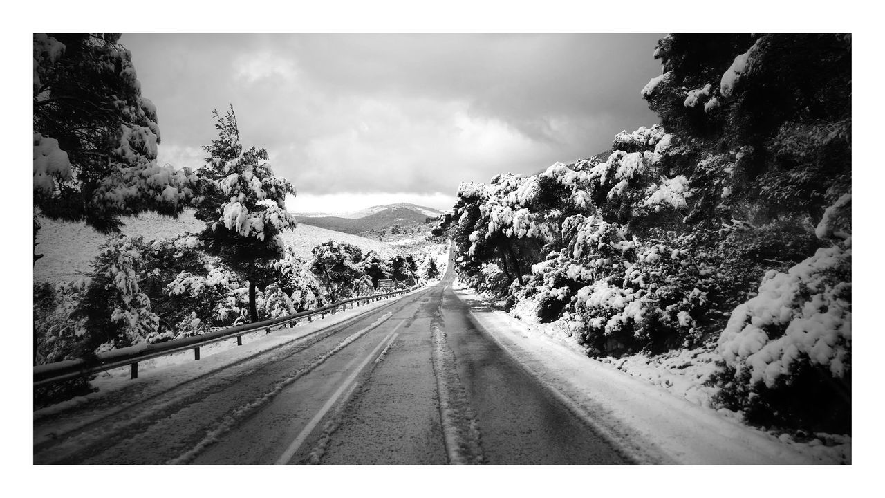 On the way to the ancient theater of epidauros... Fantastic Exhibition Greece Snowing Trip Photo Streetphotography