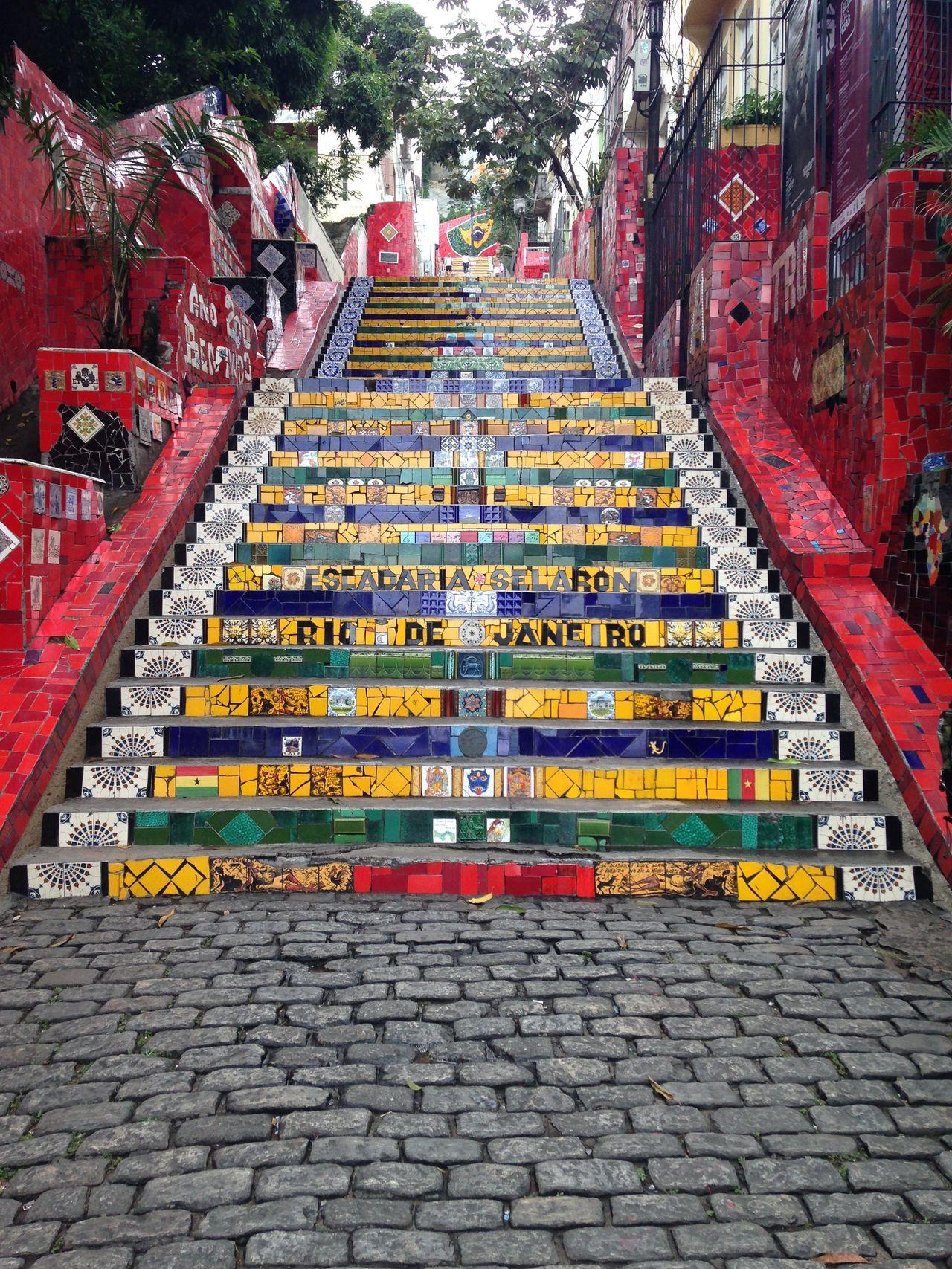 Escadaria Selarón Lapa Rio De Janeiro Brazil EyeEm Rio