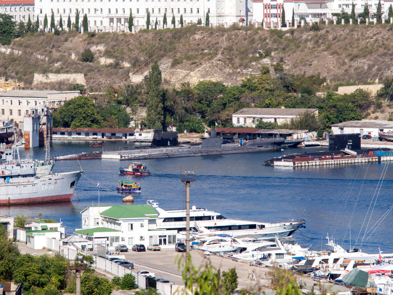 Bay City Commercial Dock Crimea Day Gawlet Harbor Mode Of Transport Moored Moored Boats No People Outdoors Russia Sailboat Sevastopol  Ship Water