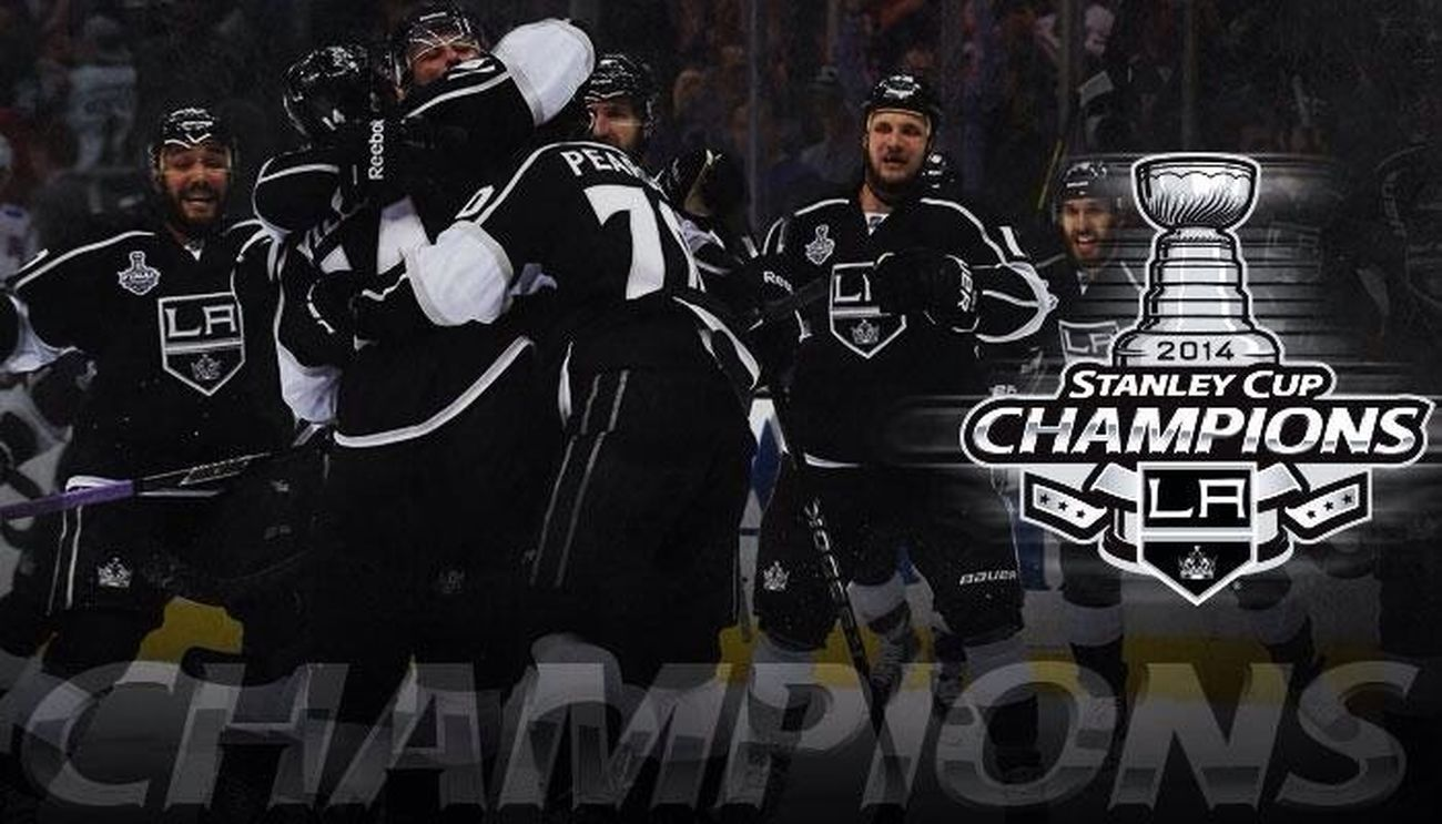 I have no words! What a game. It's unbelievable. Lakings Stanleycupchampions Gokingsgo