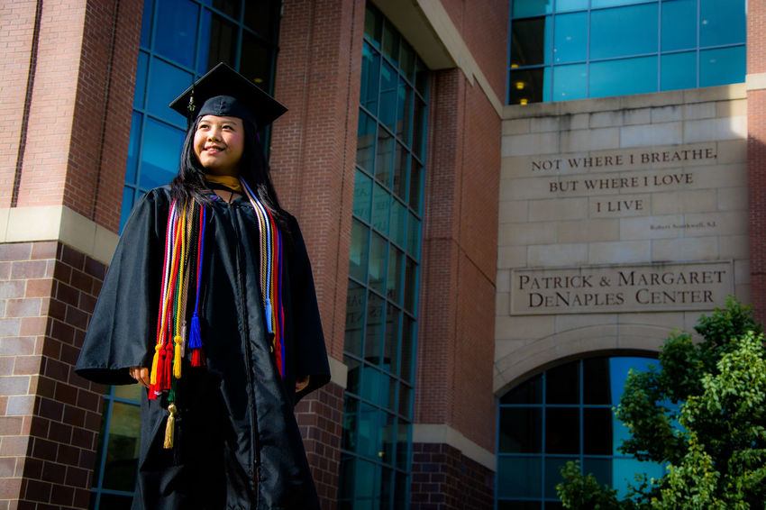 Graduation College Adult Life