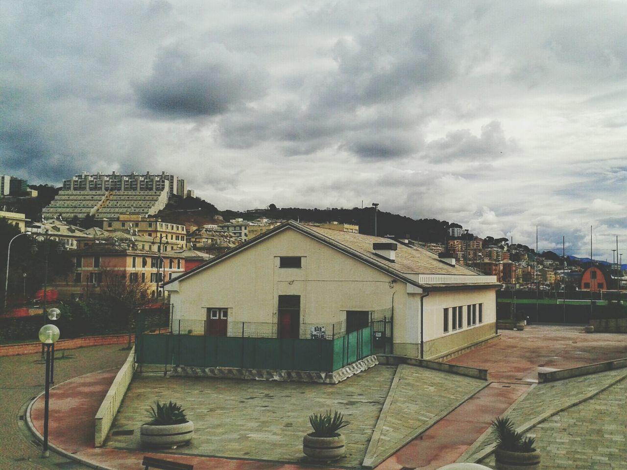 """""""Dalla Fascia Di Rispetto"""". A Genova-Pra'. Buiding Edificio Area Sport Smartphone Photography Mobile Photography with S3mini, Camerazoomfx and Edited with EyeEm F1preset"""