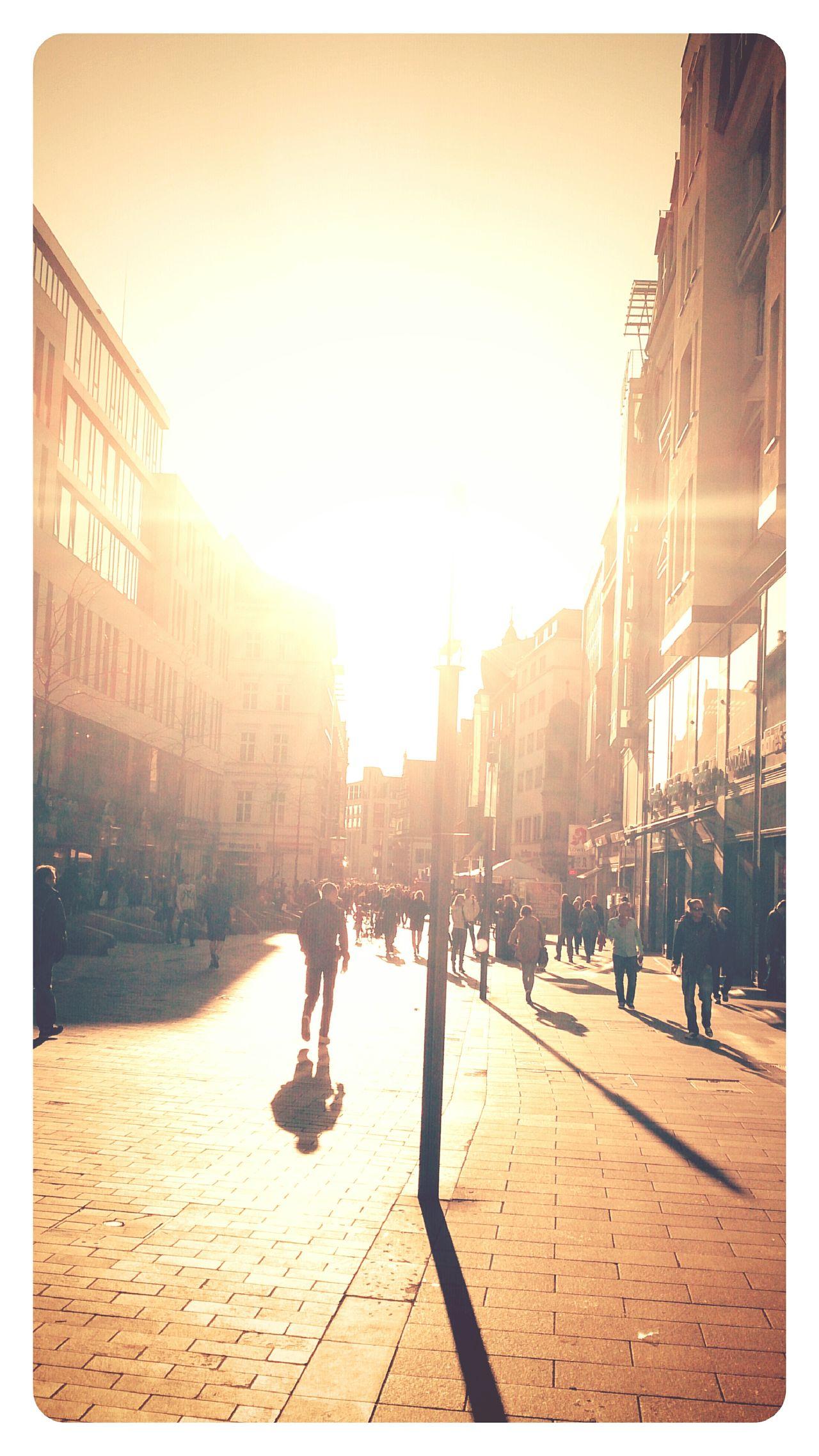 Sunlight in leipzig