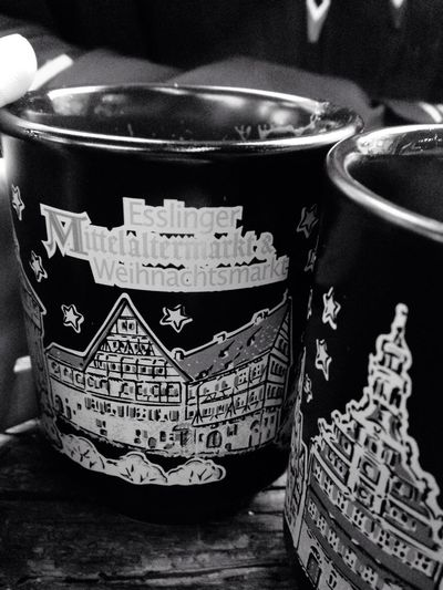 Weihnachtsmarkt Weihnachten Glühwein Love Couple Cup