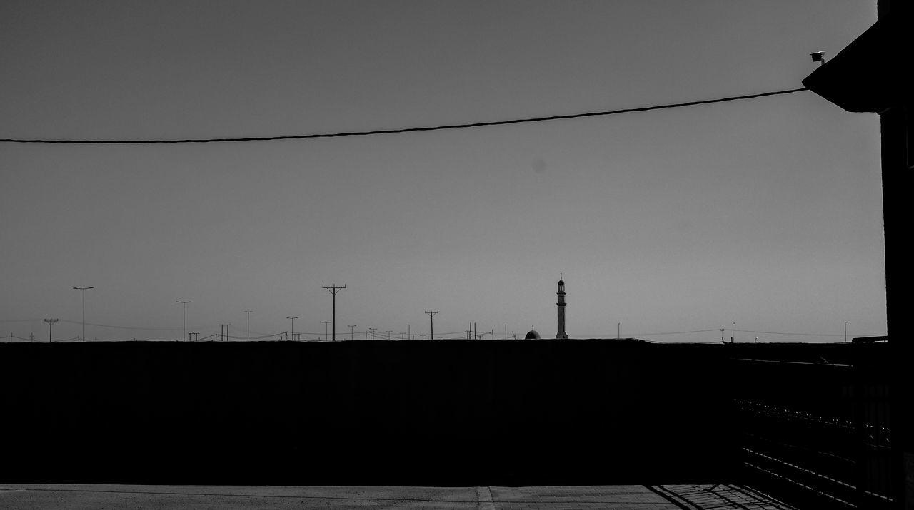 Blackandwhite Blackandwhite Photography Deserthighway Fujifilmx100s Horizon Mosque Pylon Sky Skyscape