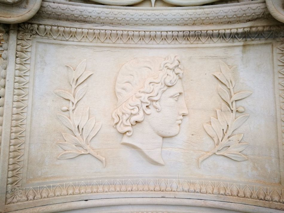 Greece Greece Athens Athens Academy Relief Sculpture Ancient Greece Gods