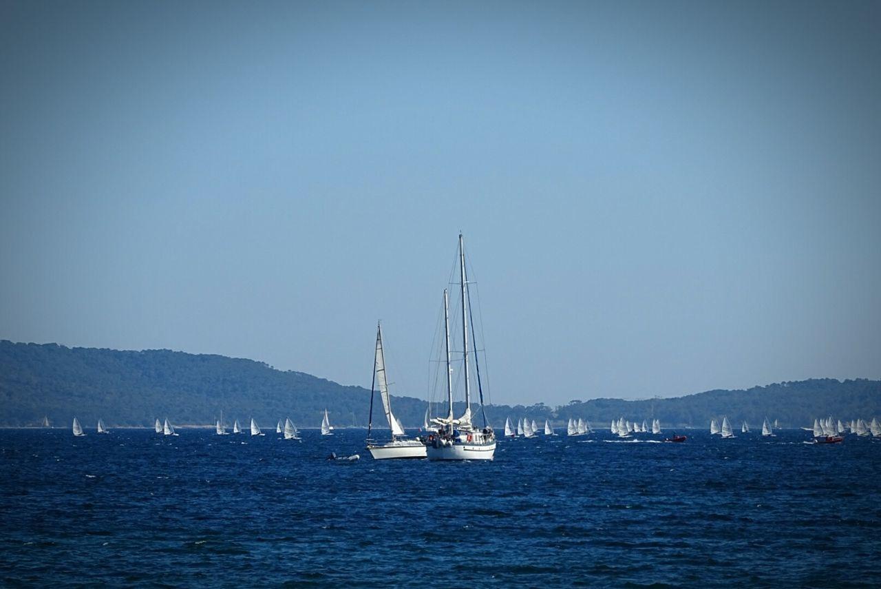 Sea Blue Water Bateau ❤️ Voiles Et Voiliers Clear Sky Plaisance