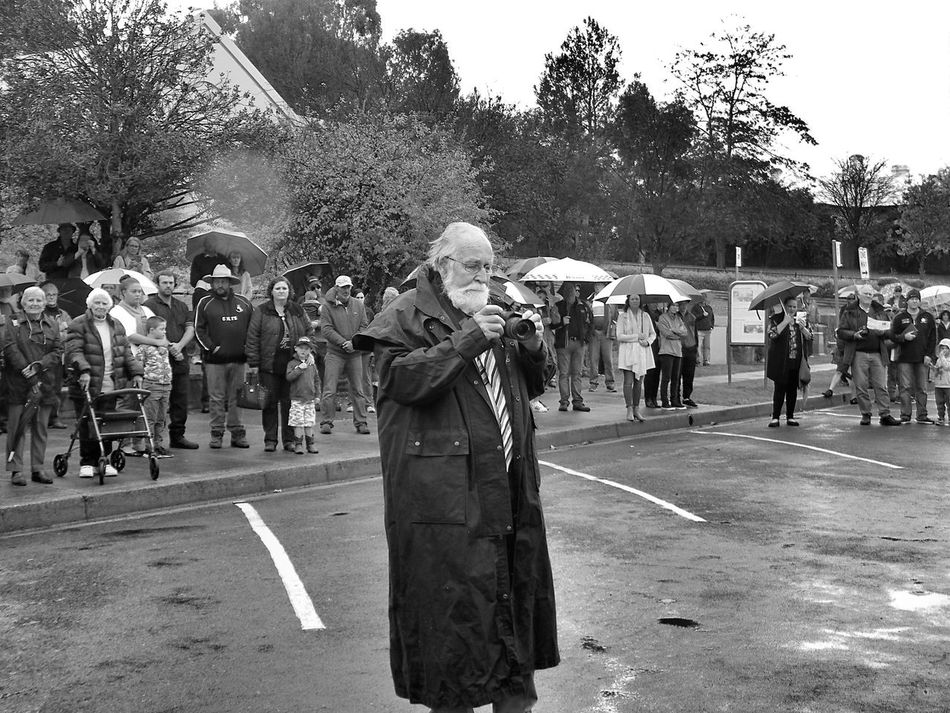 Adult ANZAC Black And White Photography Camera Crowd Day Large Group Of People Lestweforget Men Monochrome Musician Occupation Old Outdoors People Real People Road Standing Street Streetphotography Taking Photos Taking Photos Of People Taking Photos Tree Umbrella Women TCPM EyeEmNewHere EyeEmNewHere