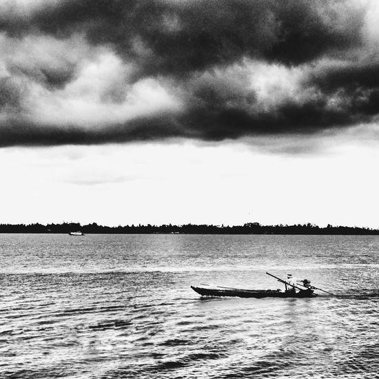 South Vietnam Boat Water Transportation Sea