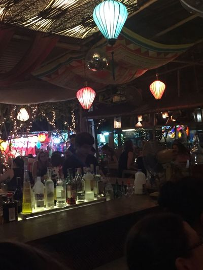 ASIA Asian  Asian Culture Bangkok City Thai Thai Foods Thailand Travel Architecture Asian Food Bar Crowd Good Vibes Hanging Illuminated Indoors  Lantern Large Group Of People Night People Real People Reastaurant Thai Food Tree Lights